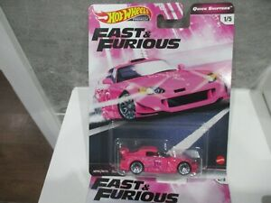 HOTWHEELS FAST & FURIOUS QUICK SHIFTERS HONDA S2000 ALLOYS RUBBER TYRES |