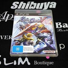 PS3 Game Soulcalibur V Soul Calibur V USED
