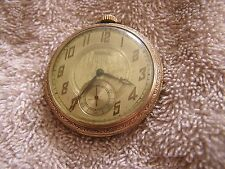 Waltham  Pocket Watch Art Deco Dial 17 Jewels