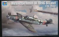 TRUMPETER 02297 - Messerschmitt BF 109 G-6 late - 1:32 Flugzeug Bausatz Kit Me