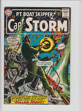 Capt Storm 1 Silver age first appearance