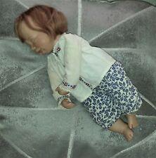 Schlafbaby Puppe Porzellan