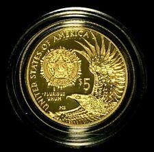 2019 W Or Américain Légion 100th Anniversaire Pièce de Monnaie + Original Boîte