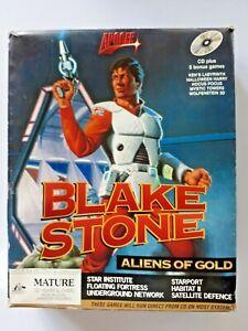 Big Box pc game Blake Stone Aliens of Gold vintage IBM