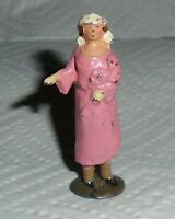 "Johillco (John Hill & Co) Vintage Lead ""Bride, in Pink"" Excellent Cond F/S"