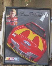Signed Bill Elliott Poster Free Shipping