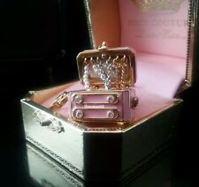 NWT JUICY COUTURE charms  Pink Jewelry Chest HTF and Rare