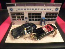 Diorama Voitures Miniatures 1/43 Garage Mercedes-Benz (unique)