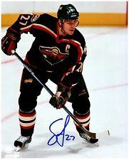 Minnesota Wild SEAN O'DONNELL Signed Autographed 8x10 Pic D