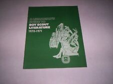 1970-71 A Librarian's guide to boy scout literature Boy Scouts Of America BSA