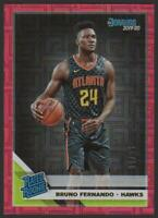 2019-20 Donruss RED INFINITE #232 Bruno Fernando RC 01/99 Rookie Atlanta Hawks