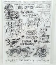Simon Says Stamp! - Love Always - Clear Stamp Set - NEW