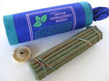 Ancient Tibetan Herbal Mint Incense * Prayer & Pooja * 30 Stick Pack