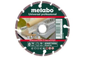 Metabo 626873000 Diamond Cutting Disc 76 x 10mm Universal Professional