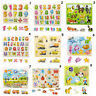 Marine Animal Digital lernen Montessori Puzzle Holz Puzzle Baby Spielzeug Board