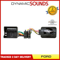 DS-FO002 SONY Stereo Stalk Steering Wheel Control Adaptor Lead For Ford Fiesta