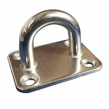 Stainless Steel Eye Plate Boat Deck Fitting - 30mm x 35mm