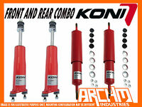 FORD FALCON XK XL XM XP KONI ADJUSTABLE FRONT REAR SHORTENED SHOCKS ABSORBERS