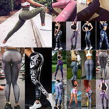 Damen Sporthose Yogahose Stretch Skinny Trainingshose Laufhose Leggings Tights