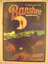 BANSHEE: SEASON 3 DVD (4 DISC SET) HBO TV SERIES USED ONCE