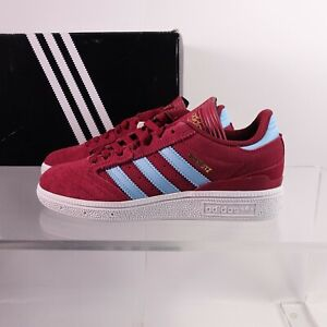 Size 5.5 Women's / Men's-Youth 4 adidas Originals Busenitz Sneakers DB3124 Red