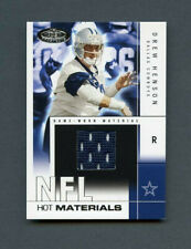 2004 Drew Henson Fleer NFL Hot Prospects Materials Jersey Patch Rookie RC /500