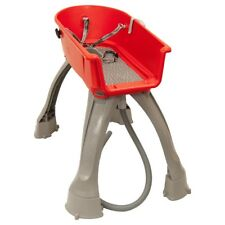Booster Bath Elevated Dog Bath and Grooming Center Medium Red