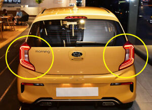 LED Rear Combination Stop Tail lamp Left Right for 2021 KIA Picanto / Morning
