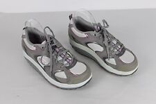 Women's SKECHERS SHAPE UPS Shoes 11806 Gray Pink US 8 EUR 38 UK 5