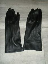 RAF OR ARMY WOMENS BLACK UNLINED LEATHER SERVICE GLOVES VARIOUS SIZES