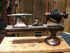 "WATCHMAKERS BENCH TOOL LATHE MOSELEY & Co ELGIN, ILL 11"" XX"