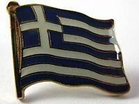 Grecia Banderas Pin Pin, 1,5 cm, Greece, Nuevo con Cierre de Presión