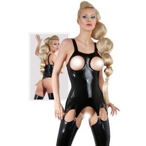 Women's Sexy Latex Underwear The Latex Suspender Body