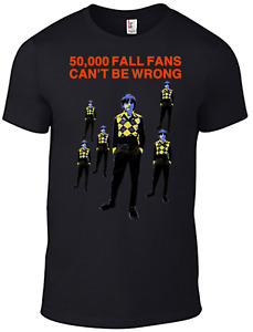 The Fall T-shirt Mark E Smith 50000 Thousand Fall Fans cd vinyl Band magazine B