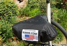 Waterproof Bicycle Seat Cover, Saddle Cover, Bike cover, Made in USA, Black