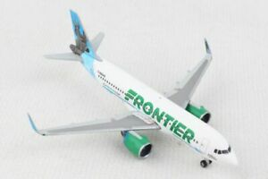 NEW 1:500 HERPA FRONTIER AIRLINES AIRBUS A320-200 N301FR MODEL 534833