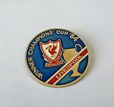 FC LIVERPOOL Winner of CHAMPIONS CUP 1984 old distintivo badge