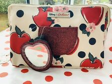 Disney x Cath Kidston Snow White Apples & Spots Large Cosmetic / Wash Bag *BNWT*