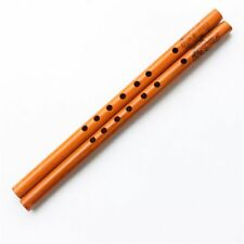 Children Bamboo Wood Color 6-hole Student Musical Flute Clarinet Instruments