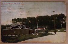 Boulevard Theatre * Medford * Massachusetts * 1914 gelaufen * coloriert