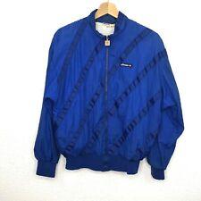 Vintage 80s ELLESSE Track Tennis Jacket Retro Sports 12W Blue