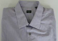 Paul Smith Shirt Size 17.5 Extra Large Stripes LONDON Line SLIM FIT