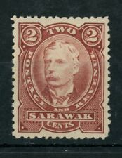 Sarawak Charles Brook 2c Brown red 12.5 perf (SG 28c) dated 1895 Mint.