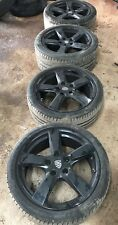 "PORSCHE CAYMAN BOXTER 981 19"" ALLOYS WITH TYRES 235/40/19 265/40/19 Stagered Set"