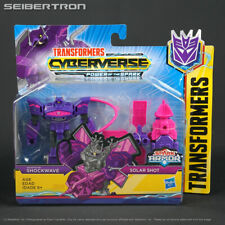 SHOCKWAVE + SOLAR SHOT Transformers Cyberverse Power of the Spark Battle Class