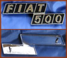 FIAT 500 F R - SCRITTA LOGO BADGE ZAMA CROMATA