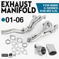 HQ Stainless Steel Header Exhaust Fits BMW M3 E46 00-06 MR-SSH-BE46M3 Seat