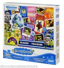 MONSTERS UNIVERSITY New DISNEY Pixar Scrapbook 1000 pieces Jigsaw Puzzle NEW