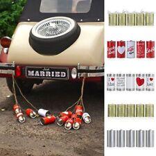 HOCHZEIT DOSEN Auto Schmuck Braut Paar Rose Deko Dekoration Hochzeit