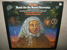 HANDEL Sir Charles Mackerras Music For the Royal Fireworks RARE SEALED Vinyl LP
